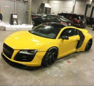 Liberty Walk Audi R8 SEMA tuning 1 190x173 Ultrafetter Audi R8 by Liberty Walk zur 2015er SEMA