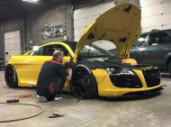 Liberty Walk Audi R8 SEMA tuning 2 190x141 Ultrafetter Audi R8 by Liberty Walk zur 2015er SEMA