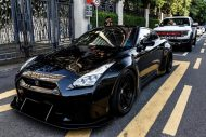 Liberty Walk Nissan GT R Vader tuning car 7 190x127 Auto von Darth Vader gefunden! Nissan GT R by LB Works
