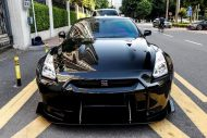 Liberty Walk Nissan GT R Vader tuning car 8 190x127 Auto von Darth Vader gefunden! Nissan GT R by LB Works