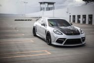 Mansory Porsche Panamera On ADV.1 Wheels 01 190x127 22 Zoll ADV.1 Wheels am Mansory Porsche Panamera