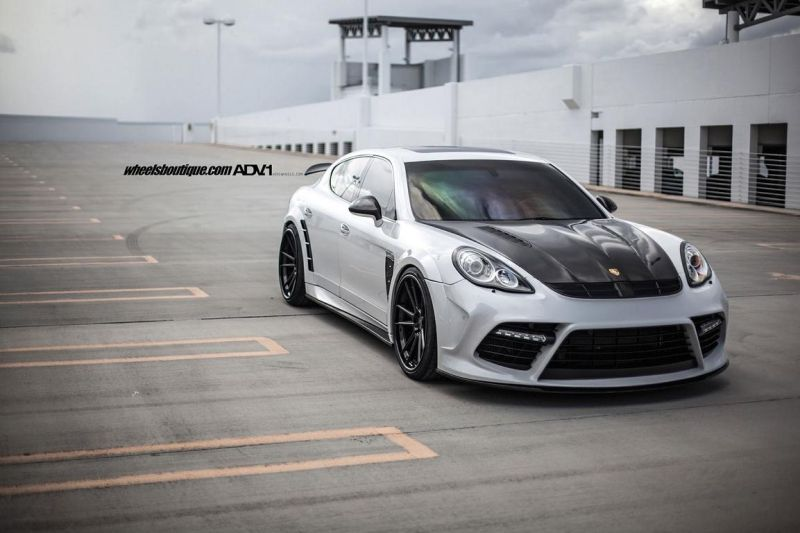 Mansory Porsche Panamera On ADV.1 Wheels 01 22 Zoll ADV.1 Wheels am Mansory Porsche Panamera