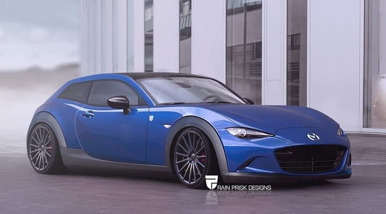 sofort bauen - hatchback version des mazda mx-5 - tuningblog.eu