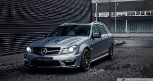 Mercedes C63 AMG Estate carbon BBS Akrapovic exhaust 7 310x165 Mercedes Benz C63 AMG T mit BBS CH R & Carbon Bodykit