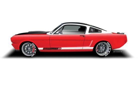 Mustang Duo fuer die SEMA 560x373 75de55f17 tuning car 1 Ringbrothers tunt den Ford Mustang auf 959PS