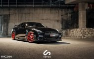 Nissan GT R On PUR RS05 By PUR Wheels 01 190x120 PUR Wheels RS05 Alu's am schwarzen Nissan GT R