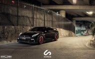 Nissan GT R On PUR RS05 By PUR Wheels 02 190x118 PUR Wheels RS05 Alu's am schwarzen Nissan GT R