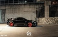 Nissan GT R On PUR RS05 By PUR Wheels 04 190x122 PUR Wheels RS05 Alu's am schwarzen Nissan GT R