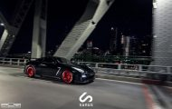Nissan GT R On PUR RS05 By PUR Wheels 06 190x120 PUR Wheels RS05 Alu's am schwarzen Nissan GT R