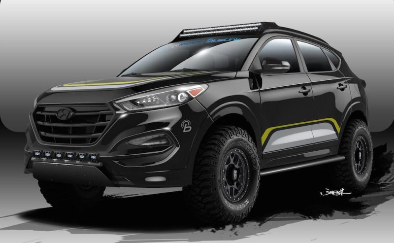 rockstar performance garage rendering hyundai tucson. Black Bedroom Furniture Sets. Home Design Ideas