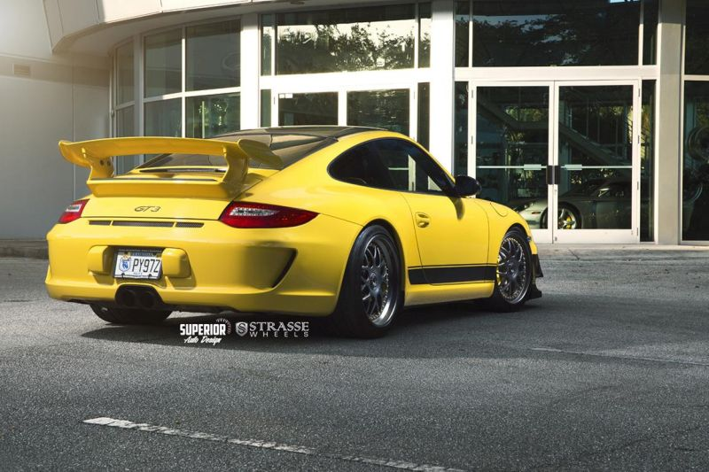 Strasse Wheels - Superior Auto Design - Porsche 997 GT3 10