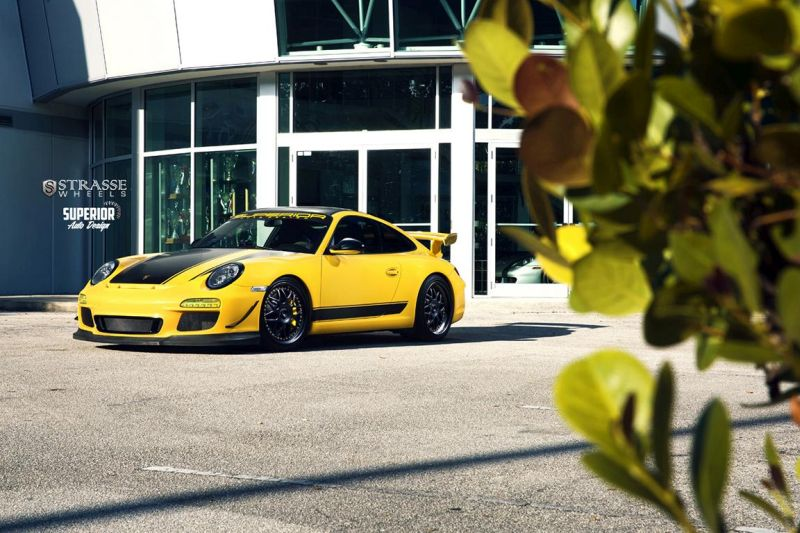 Strasse Wheels - Superior Auto Design - Porsche 997 GT3 2