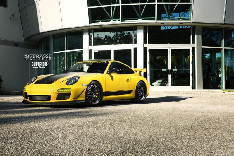 Strasse Wheels - Superior Auto Design - Porsche 997 GT3 4