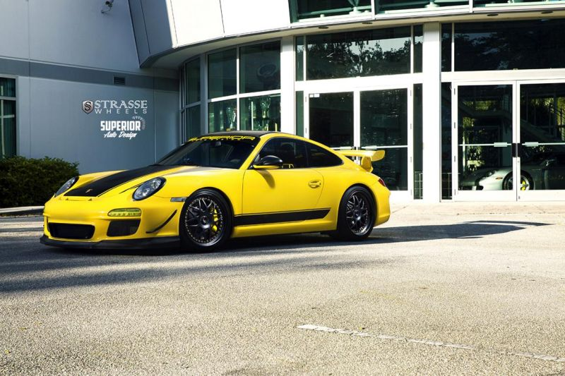 Strasse Wheels - Superior Auto Design - Porsche 997 GT3 6