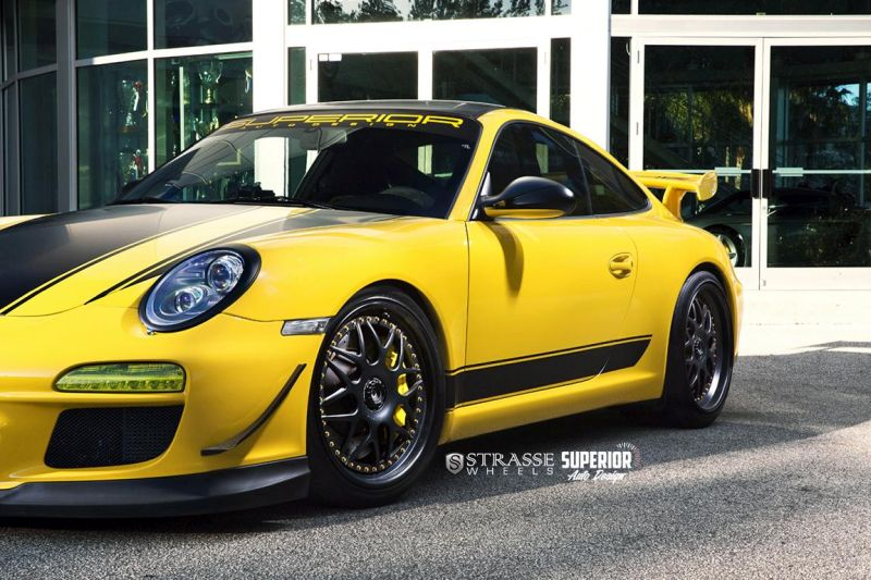 Strasse Wheels - Superior Auto Design - Porsche 997 GT3 8