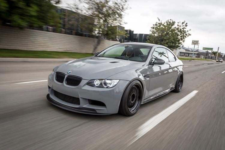 Nardograuer Bmw E92 M3 Mit Mode Carbon Parts Tuningblog