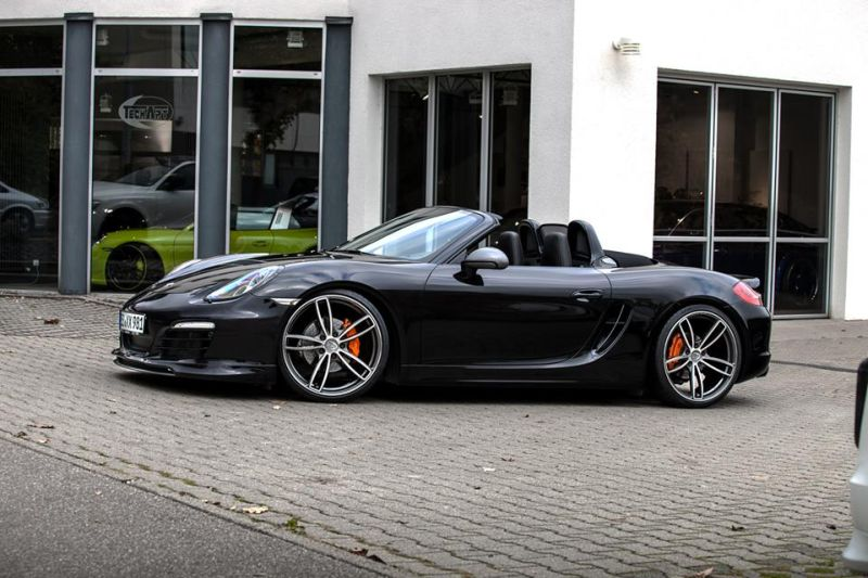 porsche boxster 981 vom tuner techart. Black Bedroom Furniture Sets. Home Design Ideas