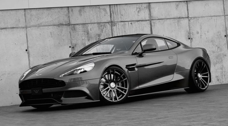 aston martin vanquish by wheelsandmore tuning