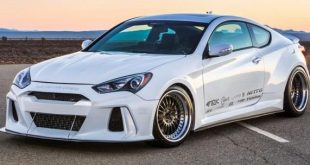 ark performance genesis coupe 1 310x165 Kia Stinger mit Legato Widebody Kit von ARK Performance Inc.