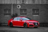 audi rs7 1 tuning s5mr 1 190x127 Roter Audi RS7 auf schwarzen 21 Zoll SM5R Alu's