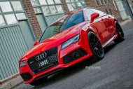 audi rs7 1 tuning s5mr 2 190x127 Roter Audi RS7 auf schwarzen 21 Zoll SM5R Alu's