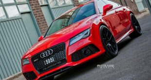 audi rs7 1 tuning s5mr 2 310x165 Roter Audi RS7 auf schwarzen 21 Zoll SM5R Alu's