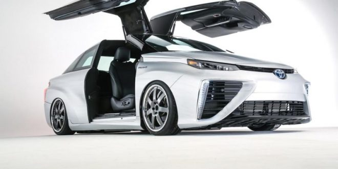 fotostory toyota mirai zur ck in die zukunft 2015 auto. Black Bedroom Furniture Sets. Home Design Ideas