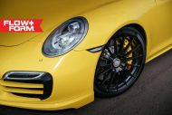 hre 911 turbo s yellow tuning car 2 190x127 Gelber Porsche 911 (991) Turbo S auf HRE FF15 Alu's