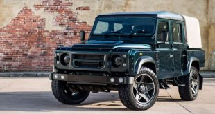 kahn design doppel cab new pics 1 310x165 Land Rover Defender 2.2 TDCI 110 Double Cab Pick Up   Chelsea Wide Track