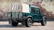 kahn design doppel cab new pics 3 190x107 Land Rover Defender 2.2 TDCI 110 Double Cab Pick Up   Chelsea Wide Track