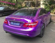 mb purple china 5 190x151 Fotostory: Lila glänzendes Mercedes Benz E Klasse Coupe