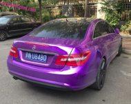mb purple china 5 190x151 Fotostory: Lila glänzendes Mercedes Benz E Klasse Coupe
