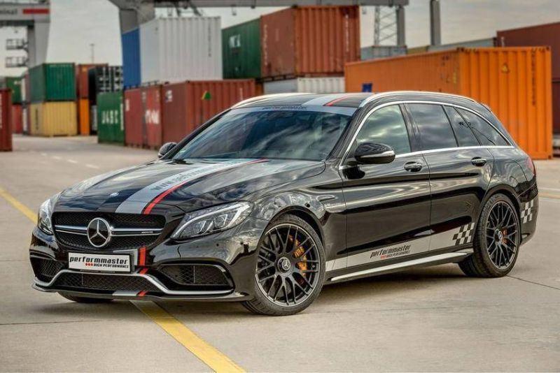 performmaster mercedes amg c63 t modell ams mdb 902411 d41d8 1 612PS & 840NM im Mercedes C63 AMG by Performmaster