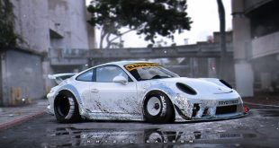 porsche 911 gt3 rwb imagined 100925 1 310x165 Rendering by Khyzyl Saleem   Porsche 911 GT3