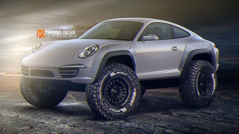 porsche 911 safari is the offroad should make fcrazy 1 Rendering: mächtiger Porsche 911 Safari by Hugo Silva