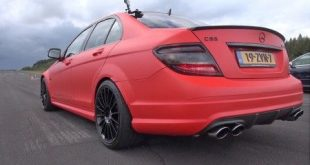 video mercedes benz c63 amg mit 310x165 Video: Mercedes Benz C63 AMG mit IPE Sportauspuffanlage
