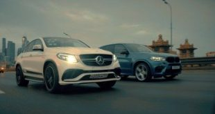 video renntech mercedes gle63 am 310x165 Video: Renntech Mercedes GLE63 AMG Coupe gegen Evotech BMW X5 M