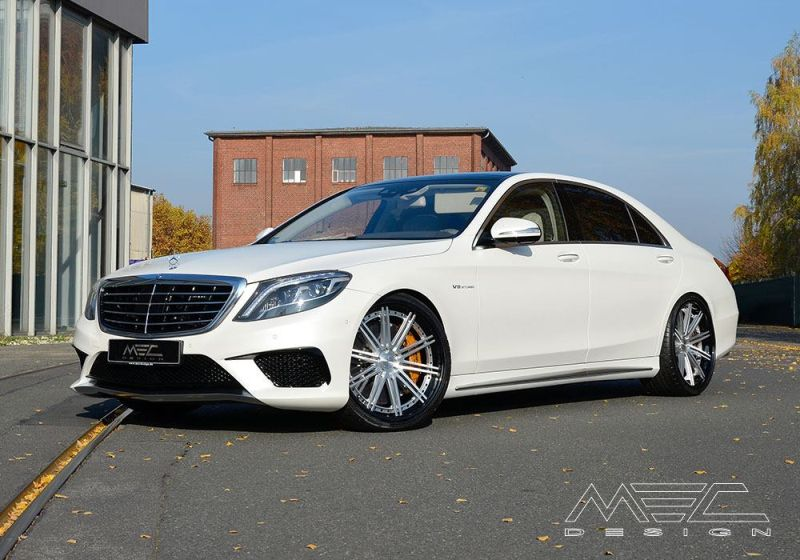12182532 10153693740829727 4352358503081227918 o Mercedes Benz S63 AMG mit 22 Zoll Alu's by MEC Design