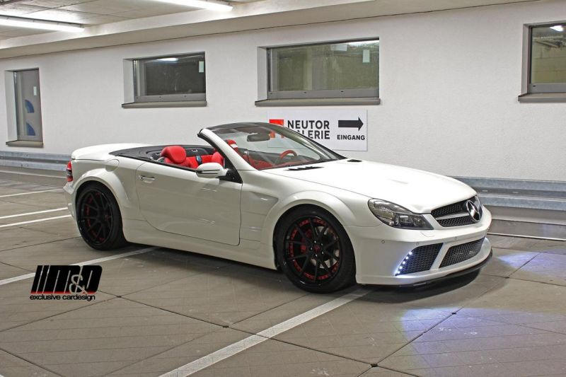 12185513 1004545136234067 8611773343566167730 o M&D exclusive cardesign   Mercedes SL r230 Black Edition Widebody