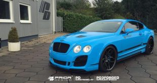 12238057 918783801490578 2451135793781748662 o 310x165 Prior Design Bodykit & PD3 Alu's am Bentley Continental GT