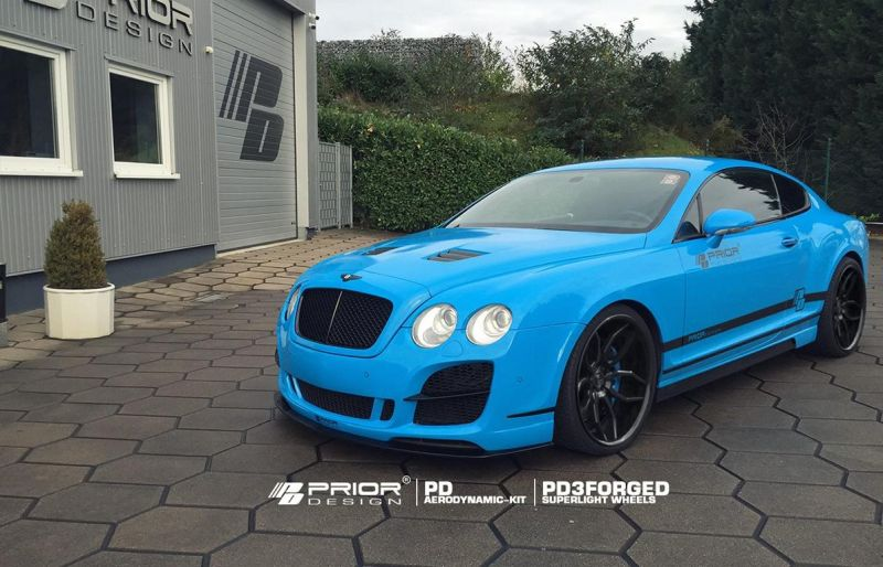 12238057 918783801490578 2451135793781748662 o Prior Design Bodykit & PD3 Alu's am Bentley Continental GT