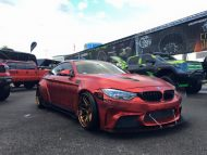 12239520 1064524986901519 8738375579146720882 n 190x143 Hammer   Liberty Walk BMW M4 F82 by Impressive Wrap