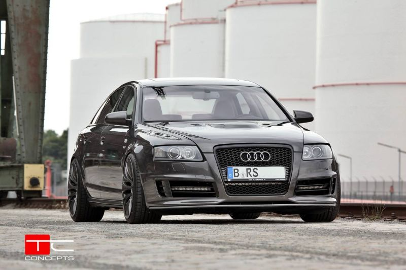 Audi a6 s6 4f widebody vom tuner tc concepts tuningblog for Audi a6 avant interieur