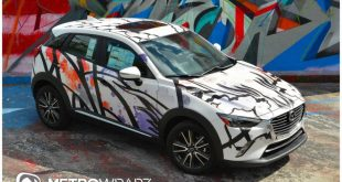 12247819 918270644876606 6610252282830334183 o 310x165 Metro Wrapz Mazda CX3 Art Car zur Miami Auto Show