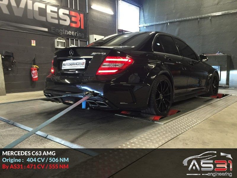 12308648 930958250321169 5632560527226173136 n Autoservices31 pimpt den Mercedes C63 AMG auf 471PS & 555NM