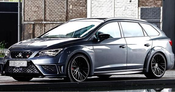 2016 JE Design Seat Leon Cupra ST Widebody (1)
