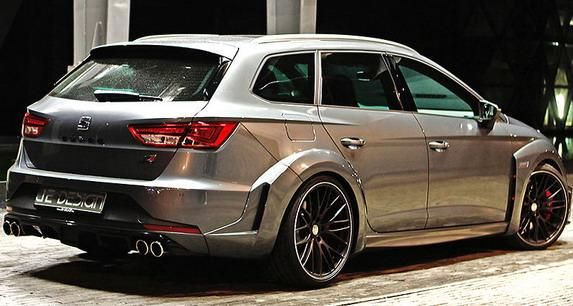 2016 je design seat leon cupra st widebody 3. Black Bedroom Furniture Sets. Home Design Ideas
