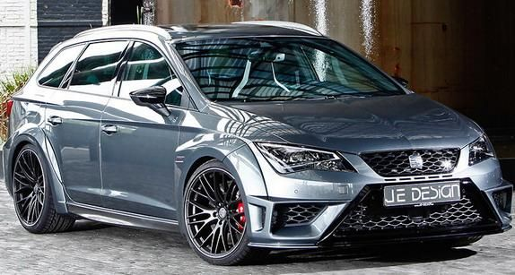 schicker kombi je design seat leon cupra st widebody. Black Bedroom Furniture Sets. Home Design Ideas