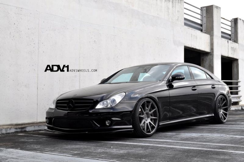 4454695224 54489cd2b4 b 20 Zoll ADV.1 ADV10 Wheels am Mercedes Benz CLS 55 AMG