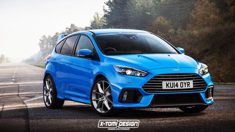 Aston Martin DBF RS2 1 Rendering: Aston Martin DBF auf Basis Ford Focus RS